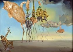 Salvador Dali, The Irresistable Temptation of St. Anthony /Сальвадор Дали, Неодолимое искушение св. Антония