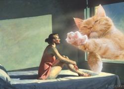 Edward Hopper, Ginger Morning Sun / Эдвард Хоппер, Утреннее солнце