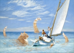 Edward Hopper, Ground Swell / Эдвард Хоппер, Мертвая зыбь