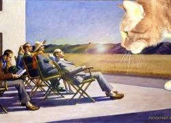 Edward Hopper, People in the Sun / Эдвард Хоппер, Люди на солнце