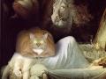 Henry Fuseli, The Nightmare Cat / Генрих Фюссли, Ночной кошмар с котом