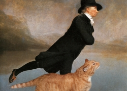 Sir Henry Raeburn, Reverend Robert Walker Skating on Duddingston Loch, aka Skating Minister and Skating Cat. Not gonna get Us! / Преподобный Роберт Уокер катается на коньках по Даддингтонскому озеру в компании Кота. Нас не догонят!