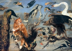 Frans Snyders, The Cat's Concert / Франс Снейдерс, Кошачий концерт