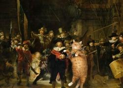 Rembrandt, The Night Watch / Рембрандт, Ночной дозор