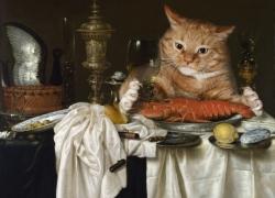 Willem Claesz Heda,Still Life with a Lobster /Виллем Клас Хеда, Натюрморт с лобстером
