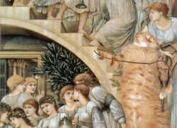 Edward Burne-Jones, The Golden Stairs / Эдвард Берн Джонс, Золотая лестница
