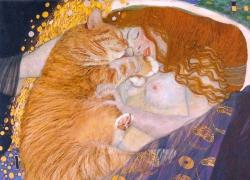 Gustav Klimt, Danae. True version / Густав Климт, Даная. Подлинная версия