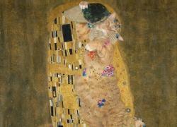 Gustav Klimt, The Kiss, true version / Густав Климт, Поцелуй, подлинная версия