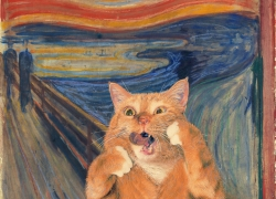Edvard Munch, The Scream, or The Cream of the Scream / Эдвард Мюнх «Крик», подлинная версия 1893