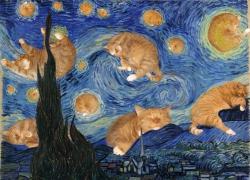 Винсент Ван Гог, Пушистая Звездная ночь