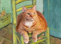 Vincent Van Gogh, The Cat on Van Gogh's Chair