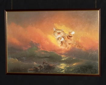 """Ivan Ayvazovsky """"The 9th life"""" / Иван Айвазовский """"Девятый вал, или Девятая жизнь"""""""
