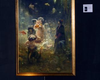 "Ilya Repin ""Sadko and the Underwater Fat Cat"" / Илья Репин ""Садко и подводный Толстый Кот"""