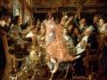 Jacob Jordaens, The Feast of Cats and Humans. The King drinks / Якоб Йорданс. Пир котов и людей. Король пьет