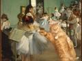 Edgar Degas, The Dance Class. Learn pas de chat / Эдгар Дега, Танцевальный класс