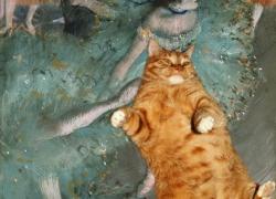 Edgar Degas, Danseuse basculant (Danseuse rouge) / Эдгар Дега, Рыжая танцовщица. Танцовщицы на сцене