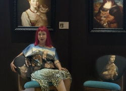 Zarathustra the Cat's humble assistant Svetlana Petrova