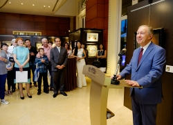 HE Andrey Tatarinov, Ambassador of the Russian Federation to Singapore, opens the show