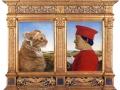 Piero della Francesca, Portraits of the Duke and Cat of Urbino / Пьеро делла Франческа, Портрет герцога Урбино и его кота