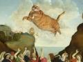 Filippino Lippi. The Worship of the Golden Cat / Филиппино Липпи, Поклонение Золотому Коту