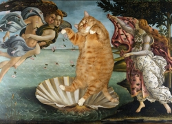 Botticelli, The Birth of Venus / Боттичелли, Рождение Венеры
