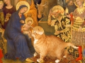 Gentile da Fabriano, The Adoration of the Cat / Джентиле да Фабриано, Поклонение котов