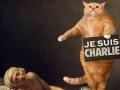 Jacques-Louis David, The Death of Marat. Je suis Charlie / Жак-Луи Давид, Смерть Марата,или Je suis Charlie