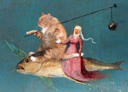 Hieronymus Bosch, Fly away with the Cat