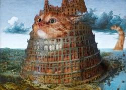 Pieter Bruegel the Elder, The Tower of Babel, 2 /Питер Брейгель Старший, Вавилонская башня, диптих, часть 2
