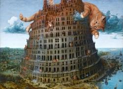 Pieter Bruegel the Elder, The Tower of Babel, 1/Питер Брейгель Старший, Вавилонская башня, диптих, часть 1