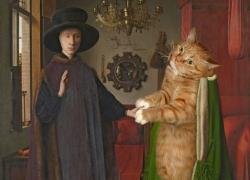 Jan van Eyck, The Arnolfini Portrait / Ян ван Эйк, Портрет четы Арнольфини