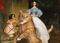 Karl Bryullov, A Rider on the Cat