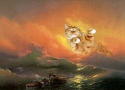 Ivan Aivazovsky,The Ninth Wave / Айвазовский, Девятый вал