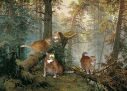 Ivan Shishkin, Morning in a Pine Forest / Шишкин, Утро в сосновом лесу