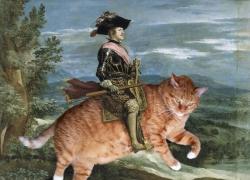 Diego Velazquez, Philip IV on Catback / Диего Веласкес, Конный портрет Филиппа IV