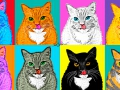 Andy Warhol, Marylin the Cat / Энди Уорхол, Кошка Мерилин