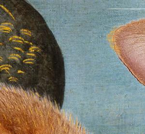 The Birth of Venus, detail