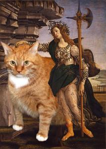 Боттичелли, Паллада и кот