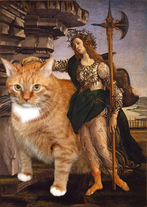 Sandro Botticelli, Pallas and the Cat