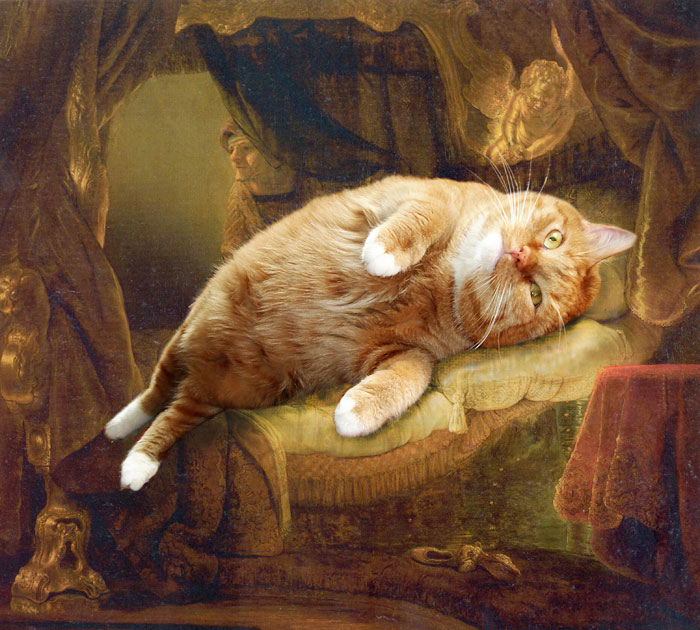 rembrandt Danae by