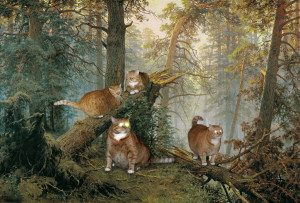 Ivan Shishkin, Morning in a Pine Forest