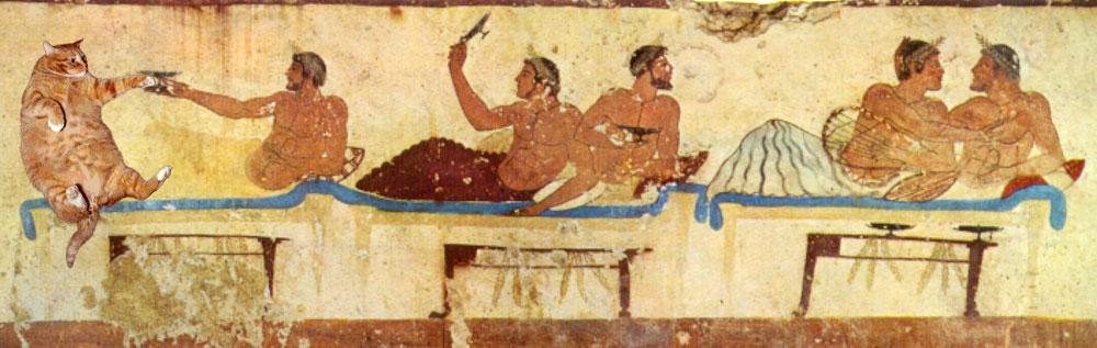 Symposium, Paestum, Tomb of the Diver