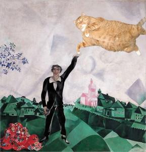 Mark Chagall, Lovers. Walk