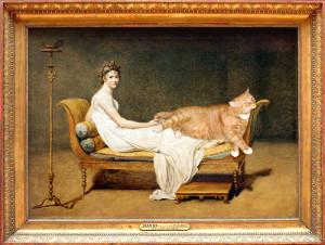 Jacques Louis David, Le Chat avec Madame Recamier