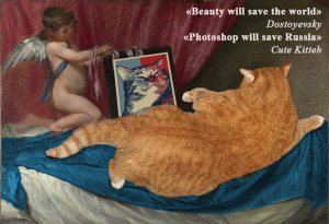 Photoshop will save Russia by Velazquez