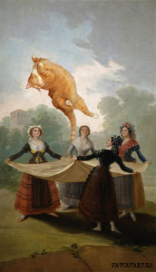 Francisco de Goya y Lucientes, The Forgotten Straw Manikin or More Fun with the Cat