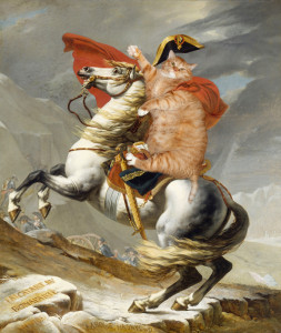 Jacques-Louis David, Napoleon Crossing the Alps