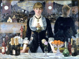 Edouard Manet, A Bar at the Folies-Berg?re, known version