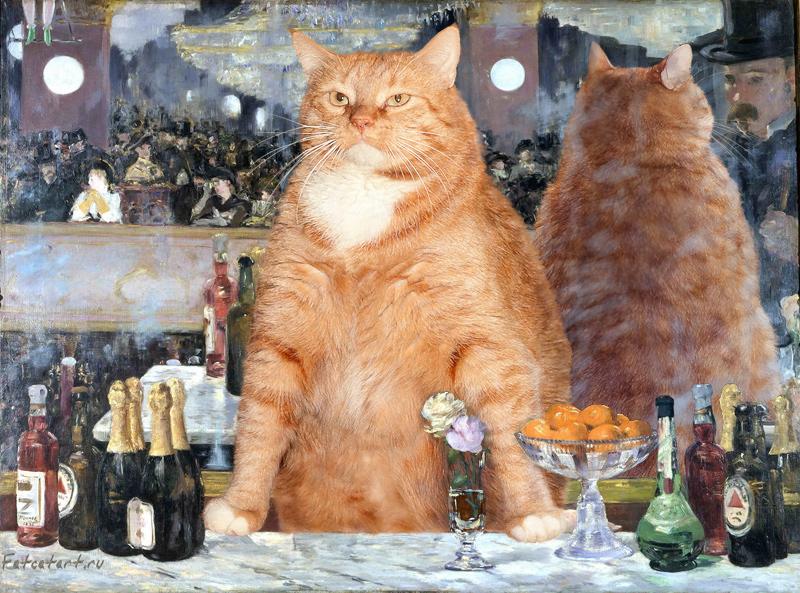 Edouard Manet, A Bar at the Folies-Berg?re