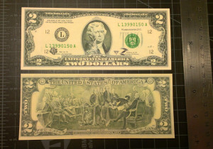 2 cats dollar bill is reality now!